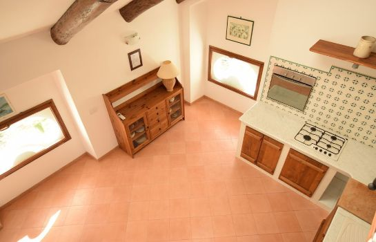 Kitchen in room Belvedere Amodeo