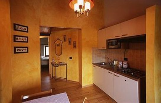 Kitchen in room San Firmano