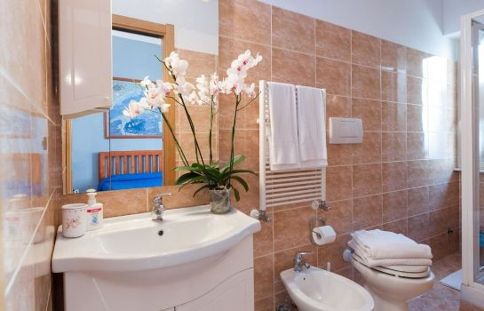 Badezimmer B&B Re di Roma