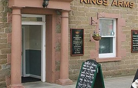 Vista exterior Kings Arms Hotel