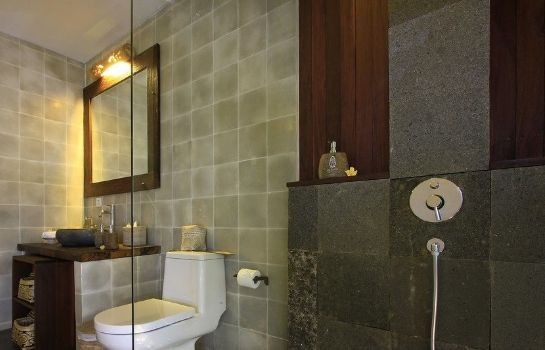 Bagno in camera The Kayon Resort