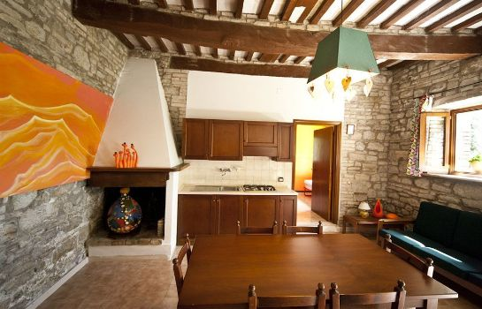 Kitchen in room Agricola Nizzi