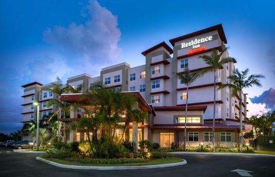 Exterior view Residence Inn Miami West/FL Turnpike