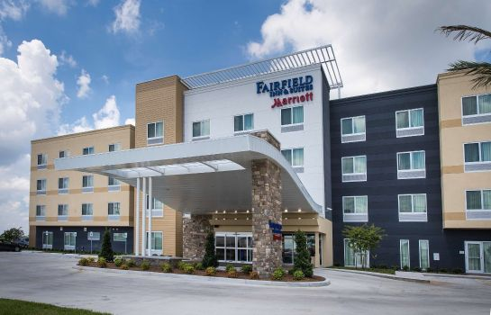Buitenaanzicht Fairfield Inn & Suites Houma Southeast