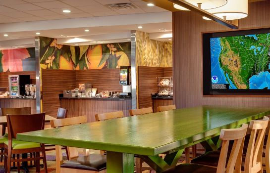 Restauracja Fairfield Inn & Suites Houma Southeast