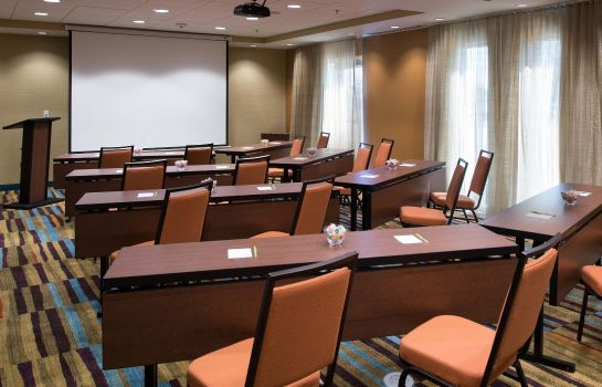 Sala de reuniones Fairfield Inn & Suites Houma Southeast