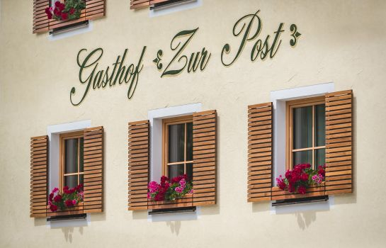 Exterior view Gasthof Zur Post