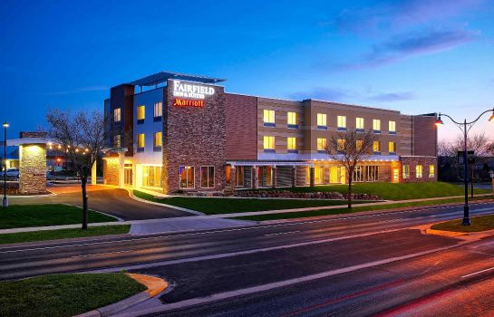 Außenansicht Fairfield Inn & Suites Madison Verona