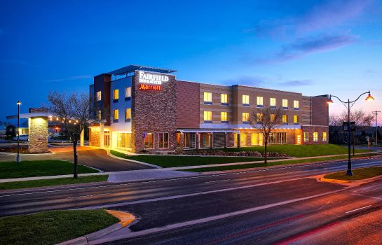 Buitenaanzicht Fairfield Inn & Suites Madison Verona