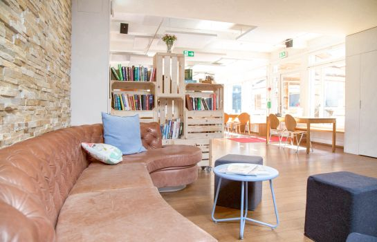 Interior view Generation YMCA Hostel Basel