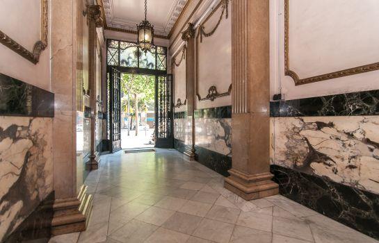 lobby weflating passeig de gracia apartments