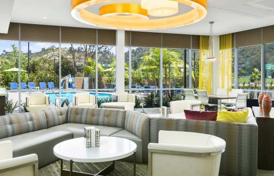 Hol hotelowy SpringHill Suites San Diego Mission Valley