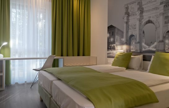 Chambre double (standard) Super 8 Munich City North