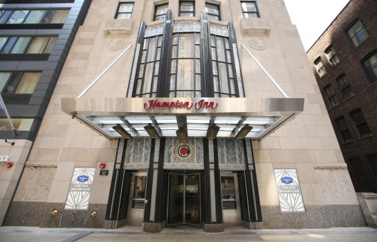 Außenansicht Hampton Inn Chicago Downtown-N Loop-Michigan Ave IL