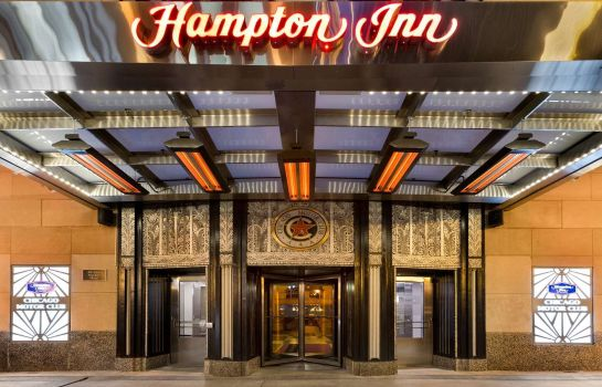 Außenansicht Hampton Inn Chicago Downtown/N Loop/Michigan Ave IL
