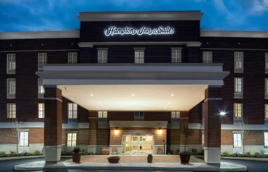 Vista exterior Hampton Suites New Albany Columbus
