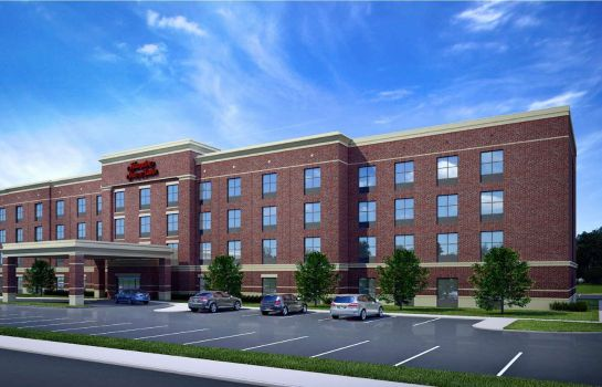 Vista exterior Hampton Inn & Suites New Albany Columbus