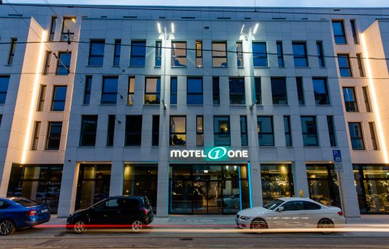 Exterior view Motel One Stuttgart-Bad Cannstatt