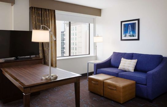 Chambre Hampton Inn - Suites Dallas Downtown TX