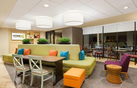 Lobby Home2 Suites by Hilton Farmington-Bloomfield