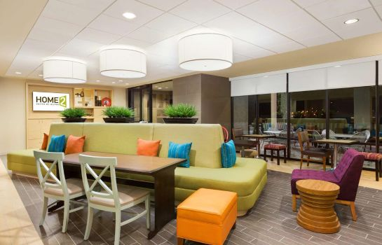 Vestíbulo del hotel Home2 Suites by Hilton Farmington/Bloomfield