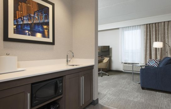 Bar hotelowy Hampton Inn - Suites Grand Rapids Downtown