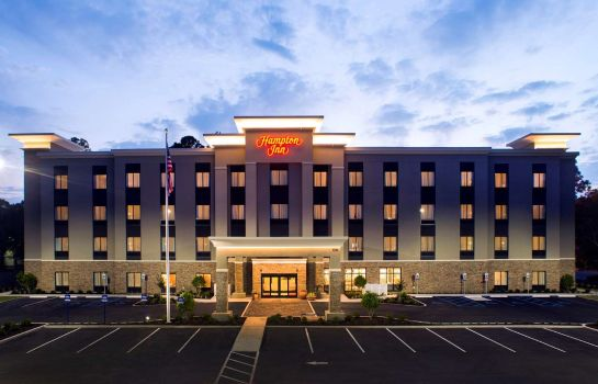 Exterior view Hampton Inn Gulf Shores AL