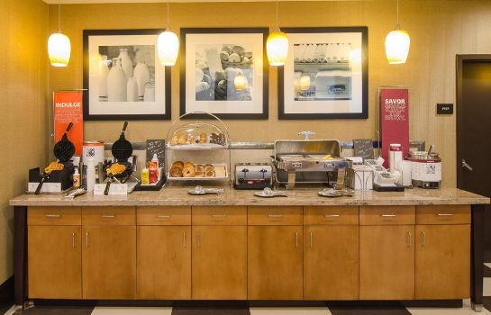 Restaurant Hampton Inn - Suites Houston North IAH TX
