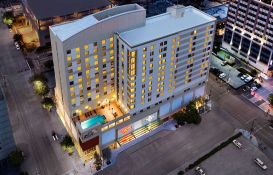 Vue extérieure Homewood Suites by Hilton Houston Downtown