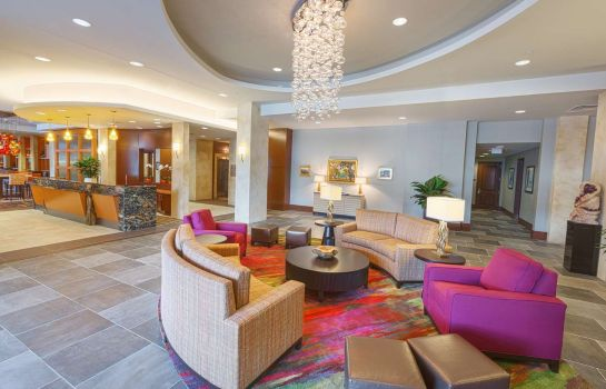 Hall de l'hôtel Homewood Suites by Hilton Houston Downtown