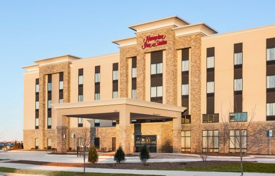 Vista exterior Hampton Inn - Suites Minooka Illinois