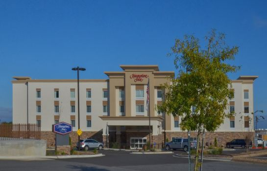 Vista exterior Hampton Inn North Little Rock McCain Mall AR