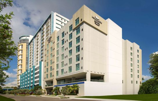 Vue extérieure Homewood Suites by Hilton Miami Downtown-Brickell