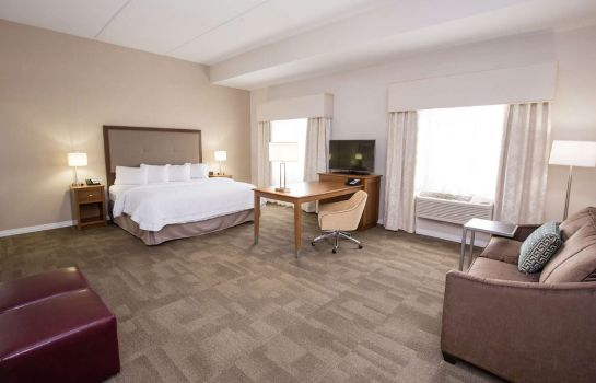Zimmer Hampton Inn - Suites - Pittsburgh-Harmarville PA