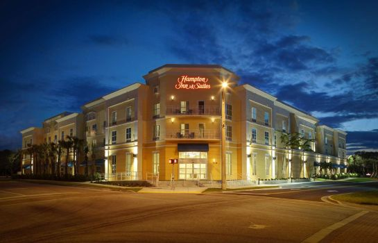 Außenansicht Hampton Inn & Suites Vero Beach-Downtown FL