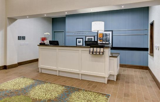 Hotelhalle Hampton Inn & Suites Vero Beach-Downtown FL