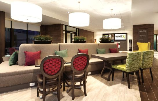 Vestíbulo del hotel Home2 Suites by Hilton Salt Lake City-East