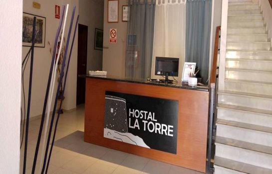 Reception La Torre Hostal