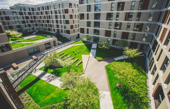 Tuin GO Apartments