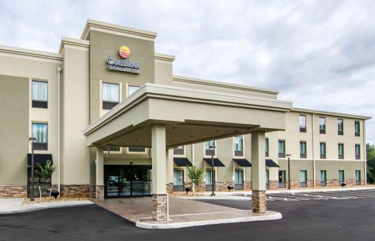 Vista exterior Comfort Inn and Suites Lynchburg Airport