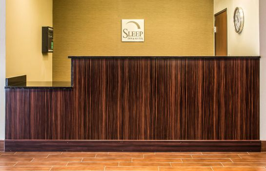 Hall de l'hôtel Sleep Inn & Suites Blackwell