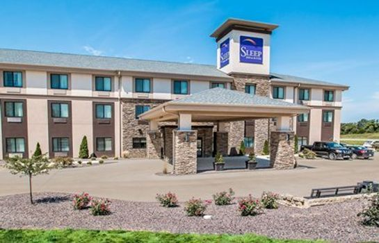 Vista esterna Sleep Inn & Suites Hannibal