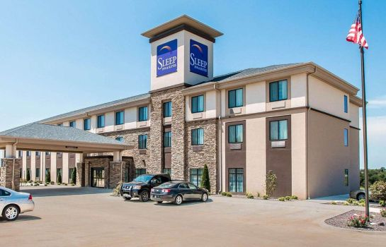 Vista exterior Sleep Inn & Suites Hannibal