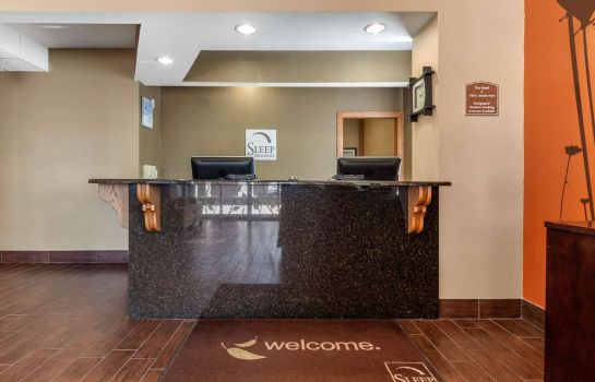 Hol hotelowy Sleep Inn and Suites Hays I-70
