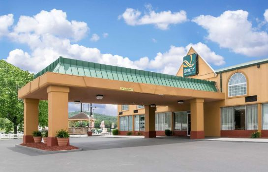 Vista exterior Quality Inn and Suites Horse Cave