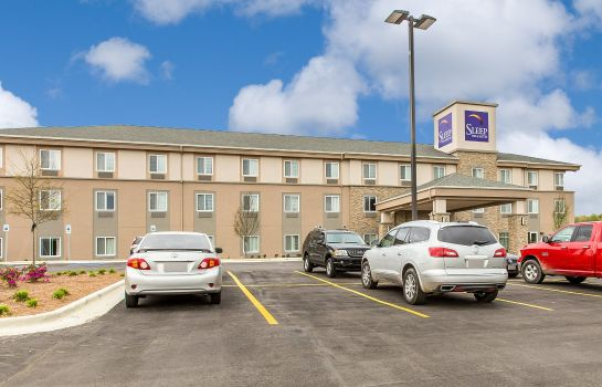 Buitenaanzicht Sleep Inn and Suites Jasper I-22