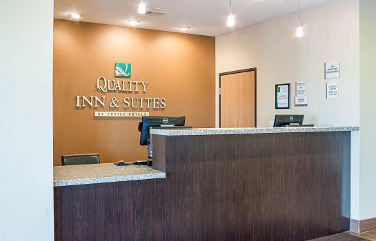 Hotelhalle Quality Inn & Suites Minot