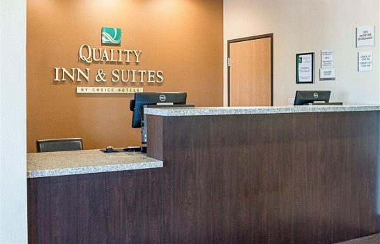 Vestíbulo del hotel Quality Inn and Suites Minot