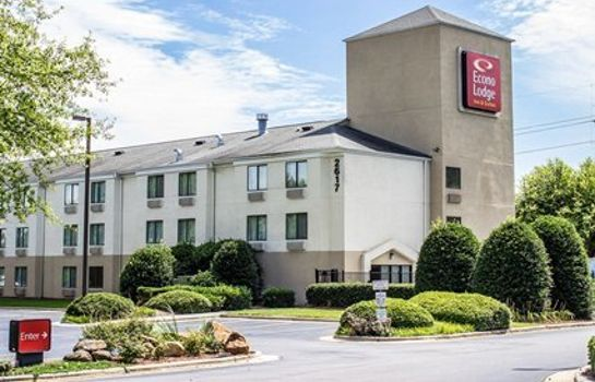 Außenansicht Econo Lodge Inn & Suites Raleigh North