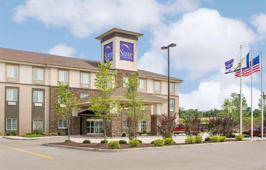 Außenansicht Sleep Inn and Suites Parkersburg-Mariett